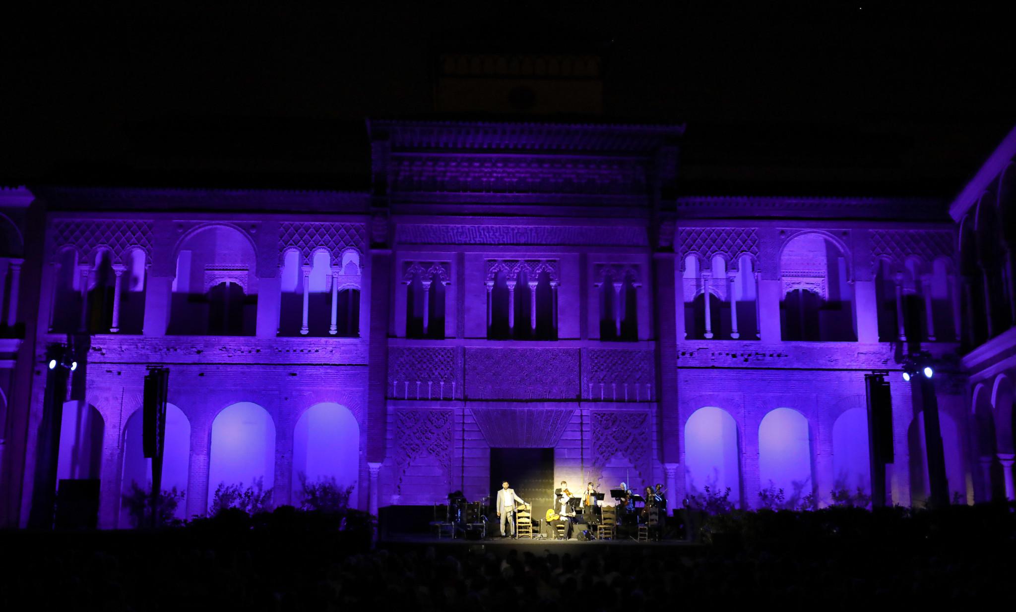 SEVILLA. 11.9.18. Bienal de flamenco en el Real Alcazar. Jose Valencia . FOTO: J.M.SERRANO. archsev